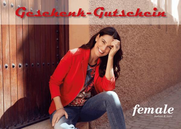"""Geschenk-Gutschein """"Für Sie"""""""