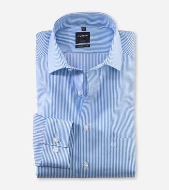 Twillstreifen Hemd modern fit