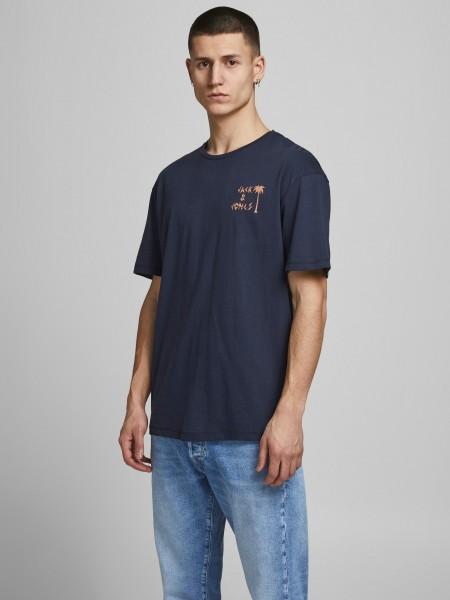 T-Shirt mit Tropenprint
